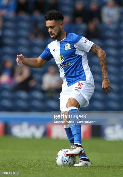 Blackburn Rovers' Derrick Williams during the Sky Bet League One match between Blackburn Rovers and Doncaster Rovers at Ewood Park on August 12 2017...