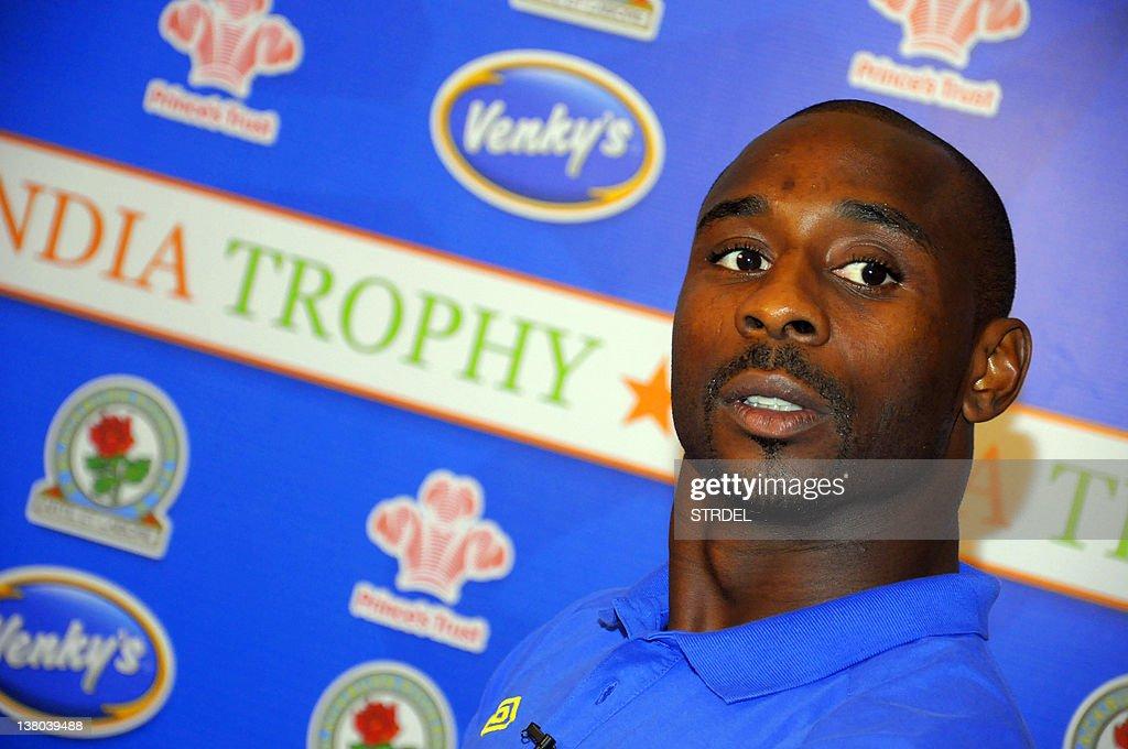 Blackburn Rovers football club player Ja : News Photo