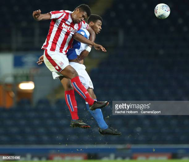 Blackburn Rovers' Joe Nuttall during the match EFL Checkatrade Trophy Northern Section Group C match between Blackburn Rovers and Stoke City U23s at...