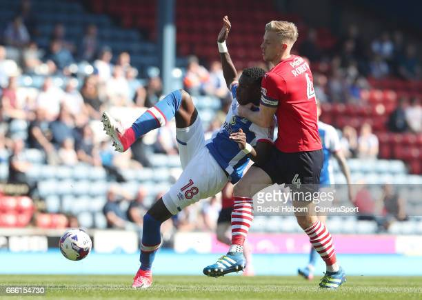 Blackburn Rovers' Lucas Joao during the Sky Bet Championship match between Blackburn Rovers and Barnsley at Ewood Park on April 8, 2017 in Blackburn,...