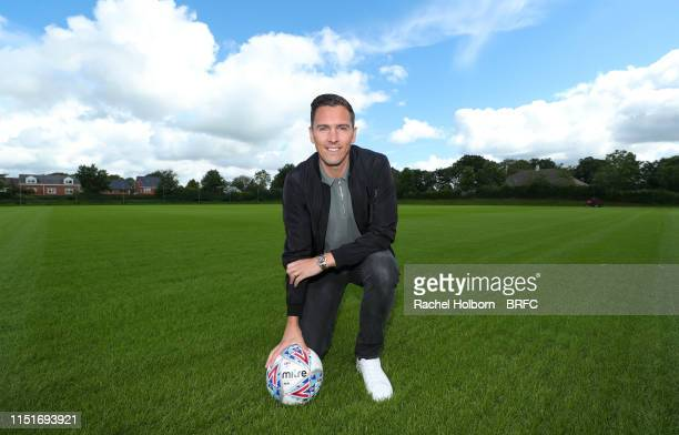 Blackburn Rovers' New Signing Stewart Downing at Blackburn Rovers STC on June 20 2019 in Blackburn England