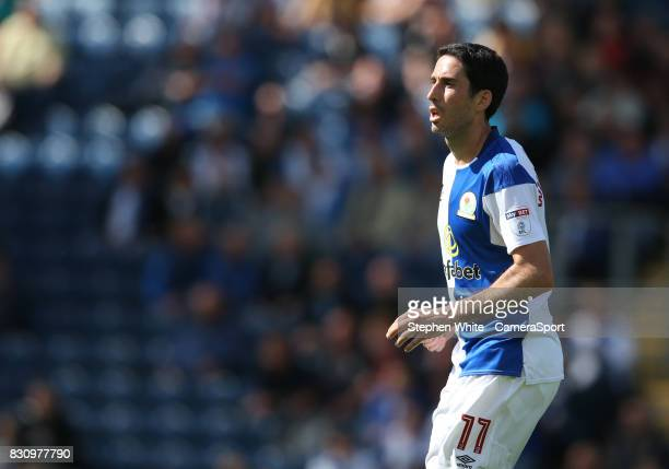Blackburn Rovers' Peter Whittingham during the Sky Bet League One match between Blackburn Rovers and Doncaster Rovers at Ewood Park on August 12 2017...