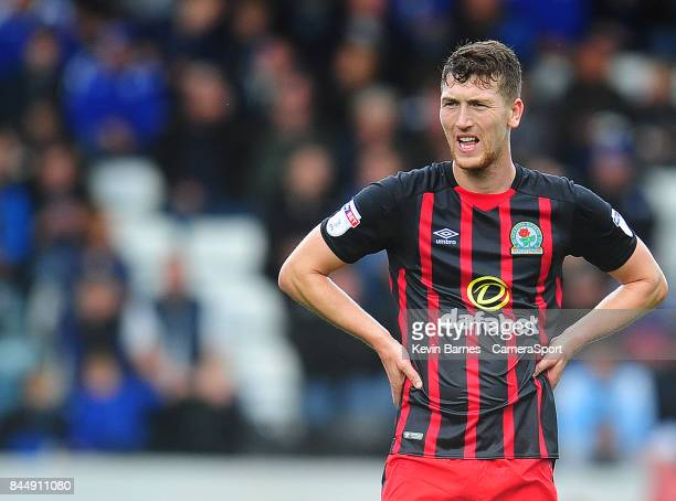 ROCHDALE ENGLAND SEPTEMBER Blackburn Rovers' Richard Smallwood during the Sky Bet League One match between Rochdale and Blackburn Rovers at Spotland...