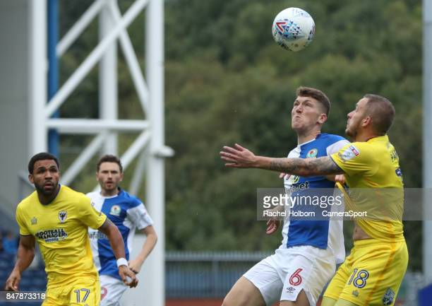 Blackburn Rovers' Richard Smallwood during the Sky Bet League One match between Blackburn Rovers and AFC Wimbledon at Ewood Park on September 16 2017...
