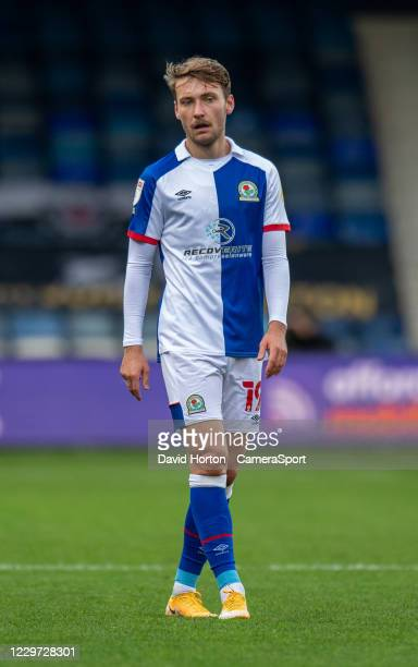 Blackburn Rovers' Tom Trybull during the Sky Bet Championship match between Luton Town and Blackburn Rovers at Kenilworth Road on November 21, 2020...