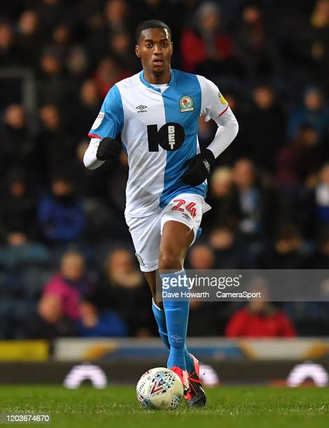 Blackburn Rovers' Tosin Adarabioyo during the Sky Bet Championship match between Blackburn Rovers and Stoke City at Ewood Park on February 26, 2020...