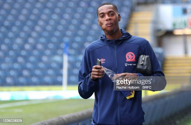 Blackburn Rovers Tosin Adarabioyo of Blackburn Rovers during the Sky Bet Championship match between Blackburn Rovers and West Bromwich Albion at...