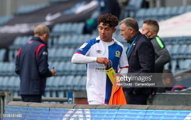 Blackburn Rovers' Tyrhys Dolan leaves the field in the second half during the Sky Bet Championship match between Blackburn Rovers and Nottingham...