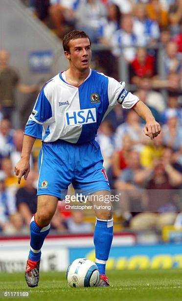 Blackburn's Barry Ferguson during the Barclays Premier league match between Blackburn Rovers and West Bromwich Albion at Ewood Park on August 14 2004...
