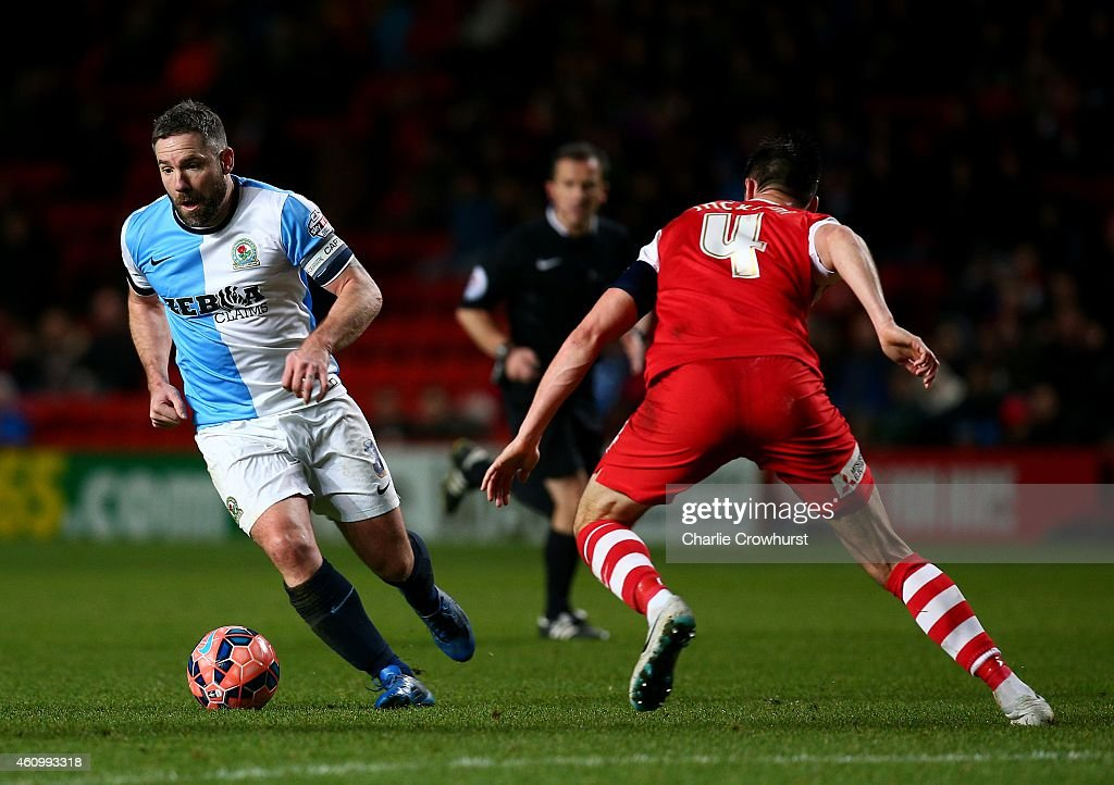 Charlton Athletic v Blackburn Rovers - FA Cup Third Round : News Photo