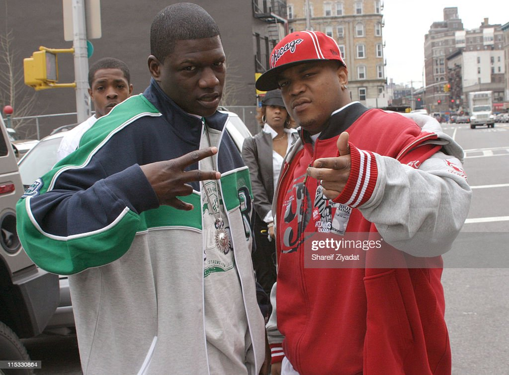 BlackChild of the Inc and Styles P during Jadakiss Video Shoot - May 5, 2004 at Harlem in New York City, New York, United States.