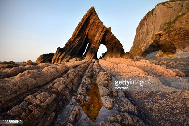 blackchurch rock - geology stock pictures, royalty-free photos & images