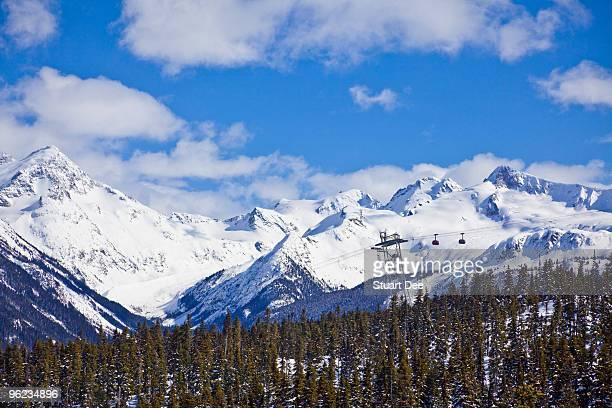 Blackcomb Mountain,Whistler, BC, Canada