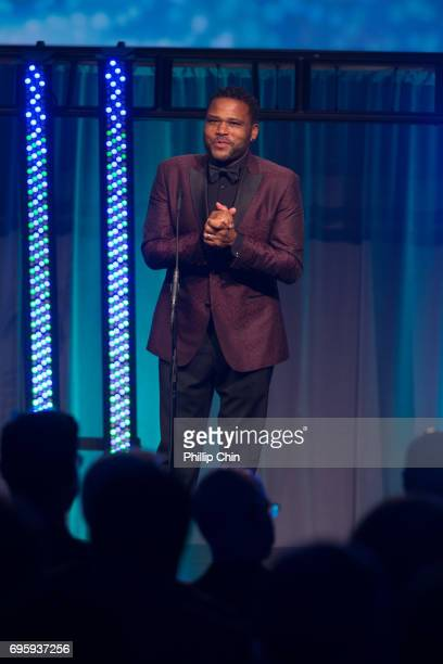 'Blackish' Actor and Executive Producer Anthony Anderson host the Rockie Awards Gala Cermemony during the 2017 Banff Media Festival at the Fairmont...