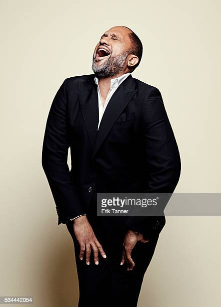 'Blackish' creator and writer Kenya Barris poses for a portrait at the 75th Annual Peabody Awards Ceremony at Cipriani Wall Street on May 21 2016 in...