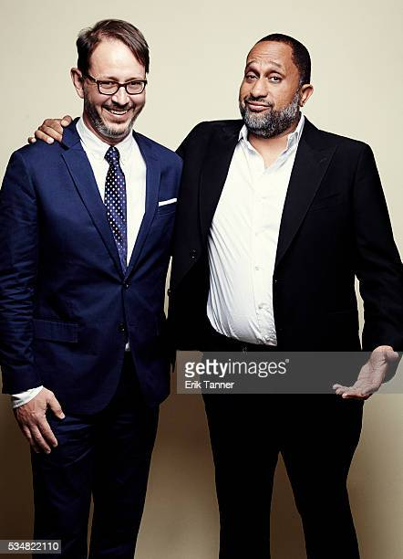 'Blackish' executive producer and showrunner Jonathan Groff and creator and writer of Kenya Barris pose for a portrait at the 75th Annual Peabody...