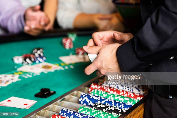 Blackjack Dealer Hands In a Casino