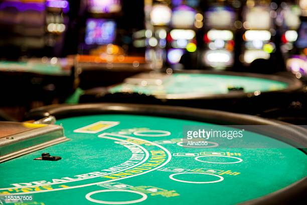 blackjack table - casino stock pictures, royalty-free photos & images
