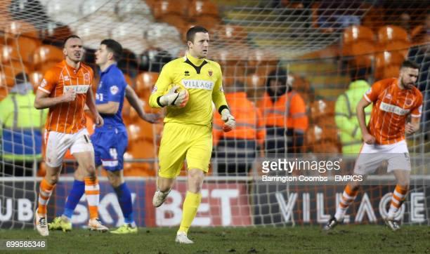 Blackpool goalkeeper Colin Doyle