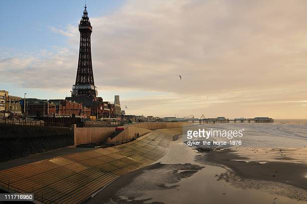 blackpool, lancashire, england - blackpool stock pictures, royalty-free photos & images