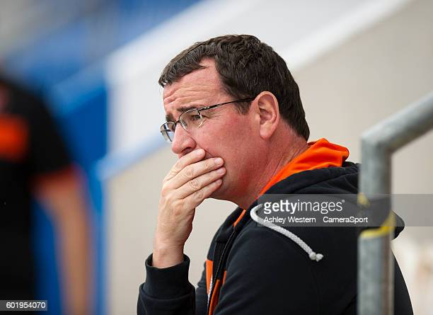 Blackpool manager Gary Bowyer before the 32 defeat to Colchester United during the Sky Bet League Two match between Colchester United and Blackpool...