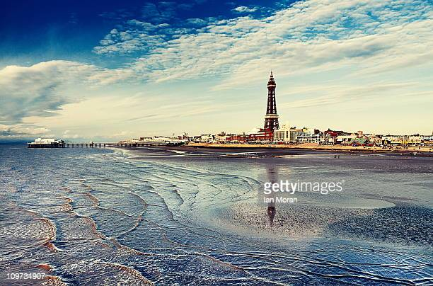 blackpool memories. - blackpool stock photos and pictures
