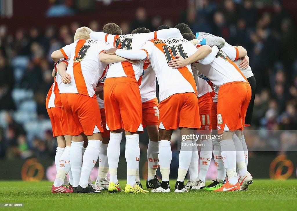 Aston Villa v Blackpool - FA Cup Third Round : News Photo