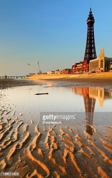 blackpool seafront - north west england stock pictures, royalty-free photos & images