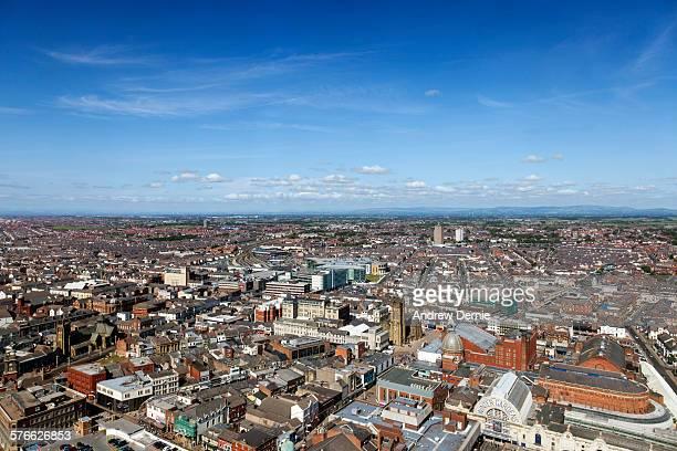 Blackpool town urban landscape