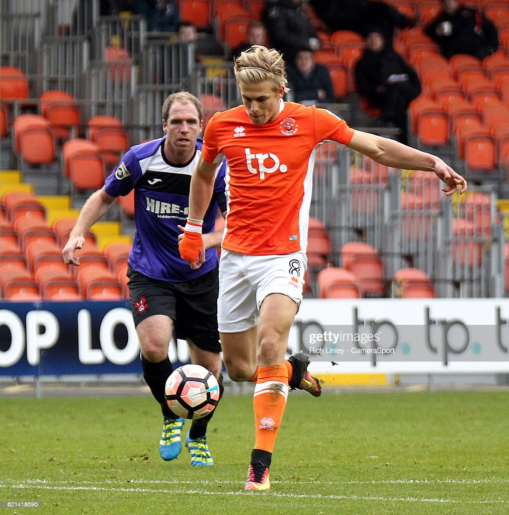 Blackpool v Kidderminster - The Emirates FA Cup First Round