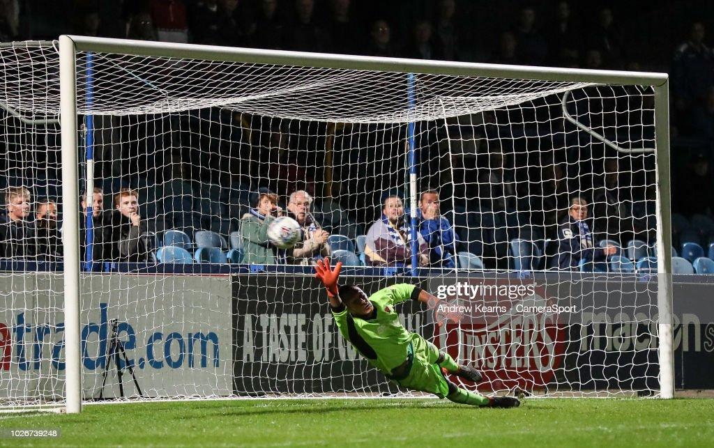 Macclesfield Town v Blackpool - Checkatrade Trophy : News Photo