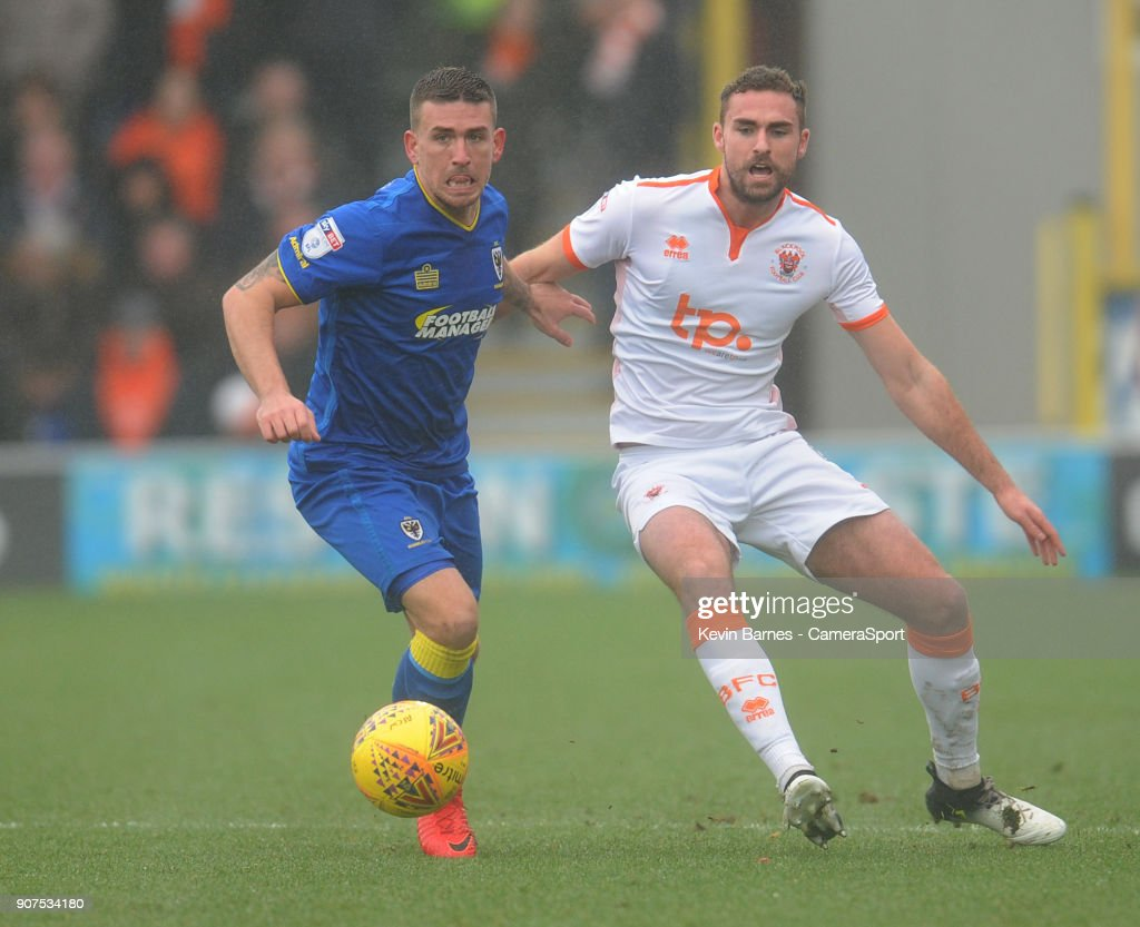 A.F.C. Wimbledon v Blackpool - Sky Bet League One