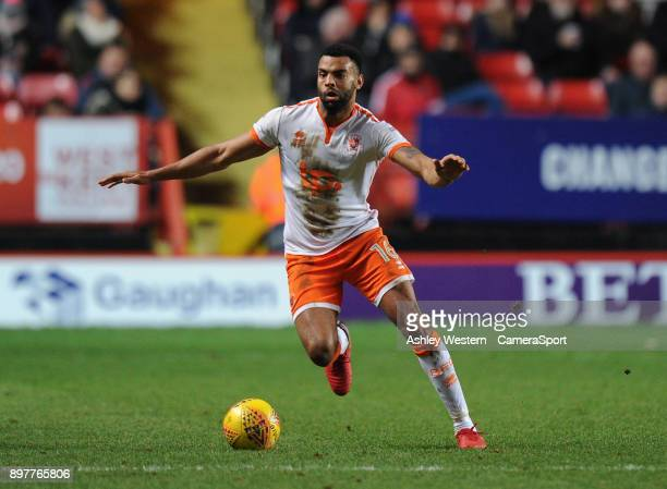 LONDON ENGLAND DECEMBER Blackpool's Curtis Tilt during the Sky Bet League One match between Charlton Athletic and Blackpool at The Valley on December...