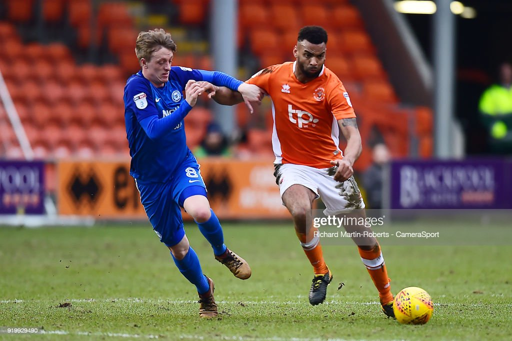 Blackpool v Peterborough United - Sky Bet League One
