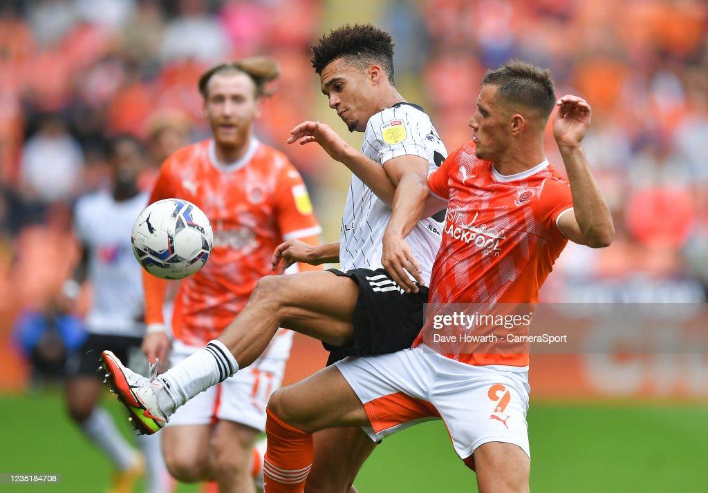Blackpool v Fulham - Sky Bet Championship : News Photo