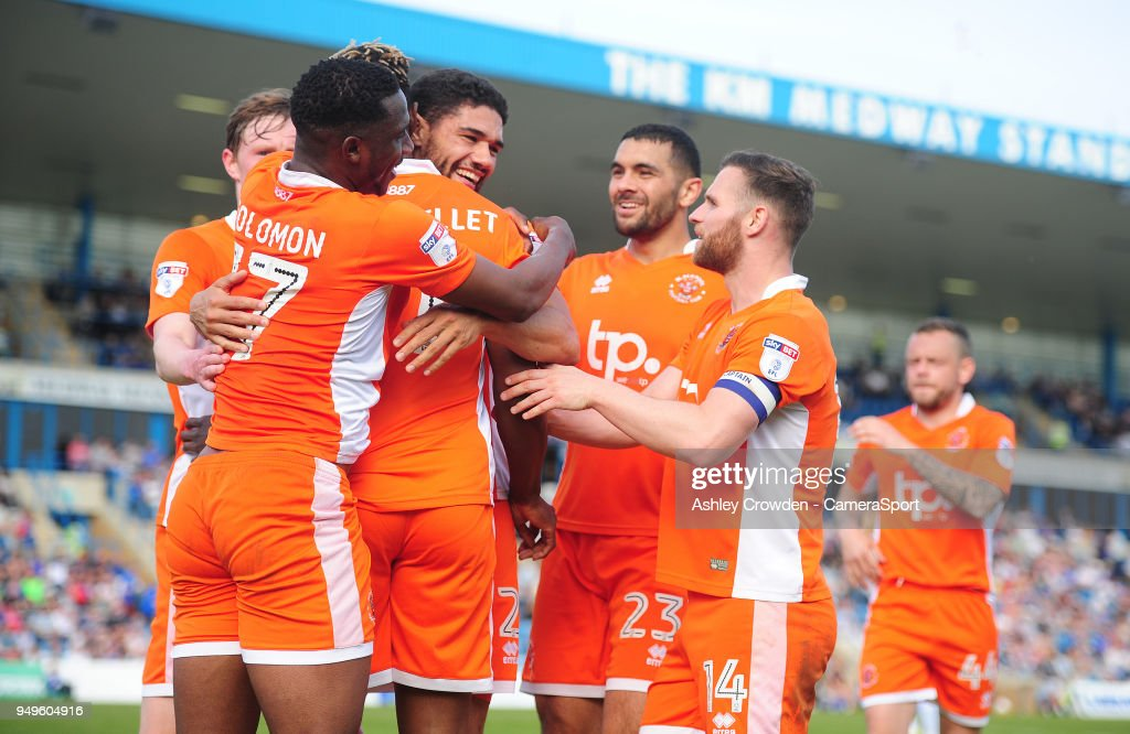 Gillingham v Blackpool - Sky Bet League One