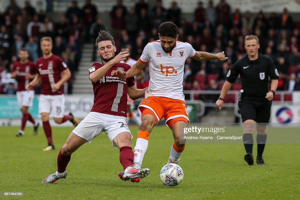 Northampton Town v Blackpool - Sky Bet League One : News Photo