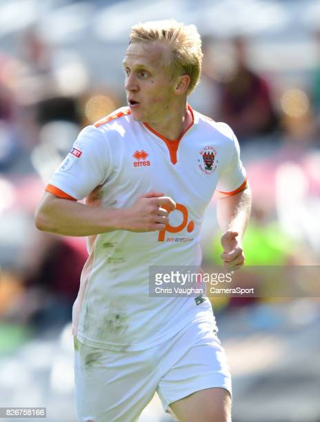 Blackpool's Mark Cullen during the Sky Bet League One match between Bradford City and Blackpool at Northern Commercials Stadium Valley Parade on...