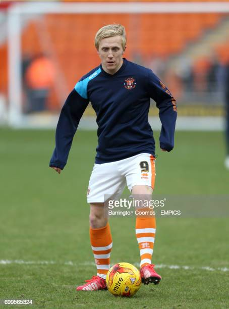Blackpool's Mark Cullen