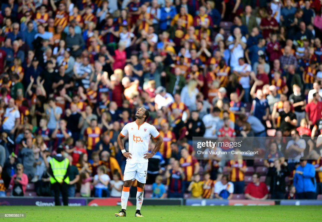 Bradford City v Blackpool - Sky Bet League One