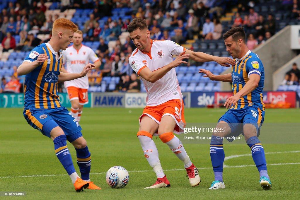 Shrewsbury Town v Blackpool - Sky Bet League One