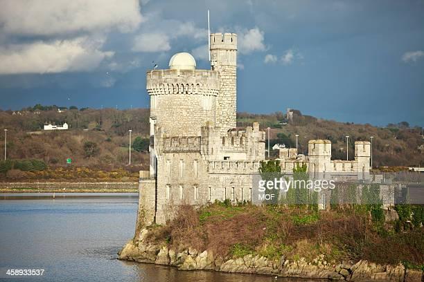 blackrock castle cork city ireland - cork city stock pictures, royalty-free photos & images