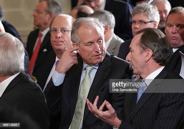BlackRock Chairman and CEO Larry Fink Boeing Company Chairman President and CEO Jim McNerney Morgan Stanley Chairman and CEO James Gorman and other...