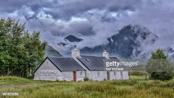 Blackrock Cottage & Buachaille Etive Mor at Glencoe