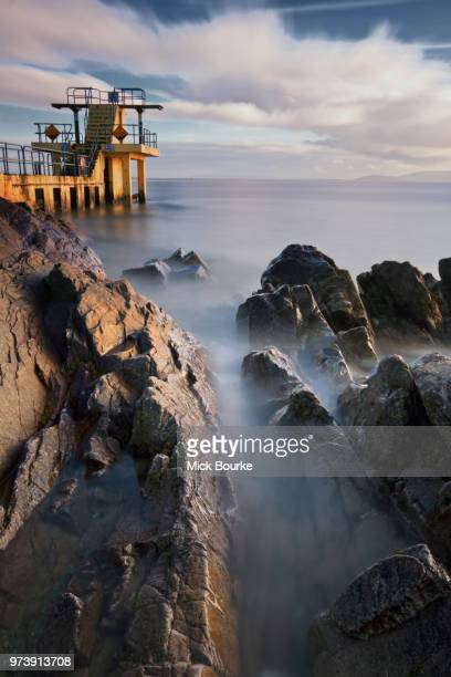 blackrock salthill galway ireland. - blackrock stock pictures, royalty-free photos & images