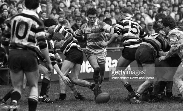 Blackrock Vs Terenure for the Leinster Senior Cup final in Lansdowne Road Dublin Ireland