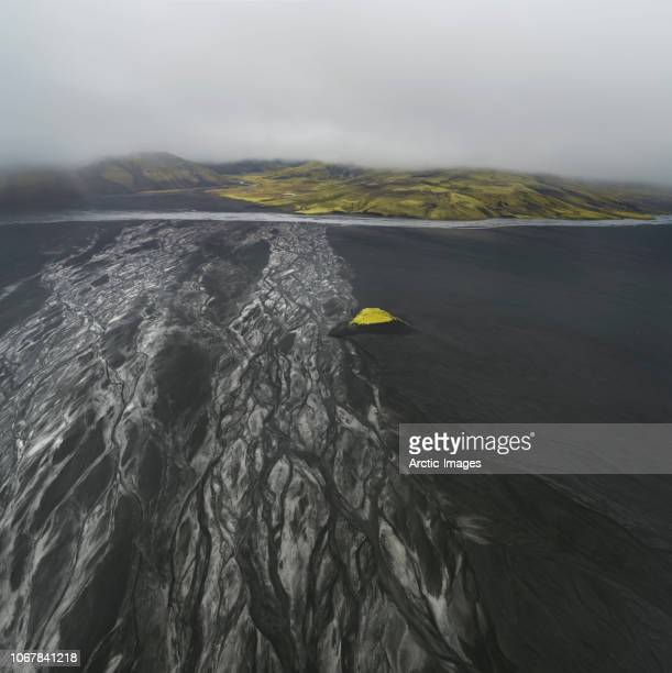 Blacks Sands and Riverbeds, Iceland