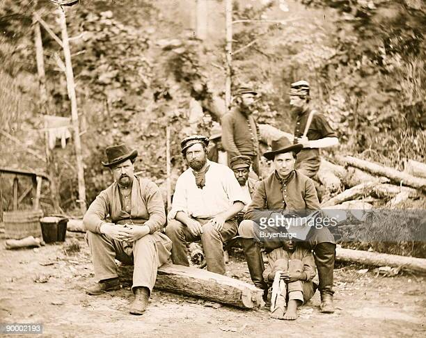 Blacks Whites Mingle at Foller's Farm at Cumberland Landing
