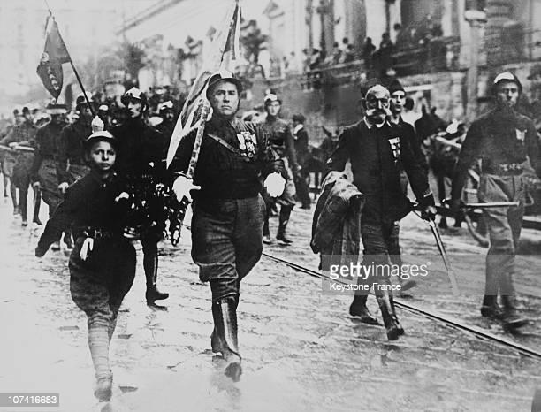 Blackshirts Parade In Rome On 1922