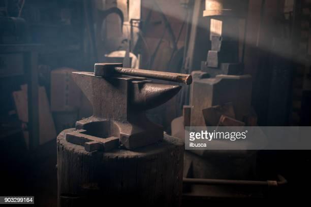 Blacksmith artist smithy studio laboratory